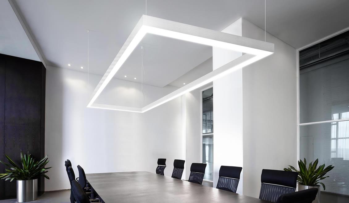 Sistemi di illuminazione interni illuminazione civile industriale